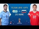LINEUPS – URUGUAY v RUSSIA - MATCH 33 @ 2018 FIFA World Cup™