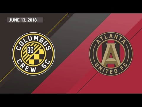 HIGHLIGHTS: Columbus Crew SC vs. Atlanta United FC | June 13, 2018