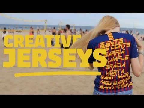 CREATING THE COOLEST BARÇA JERSEYS IN TOWN VLOG