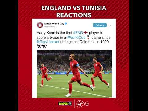 ‪Twitter reacted perfectly to #ENG's #WorldCup win over #TUN ????‬