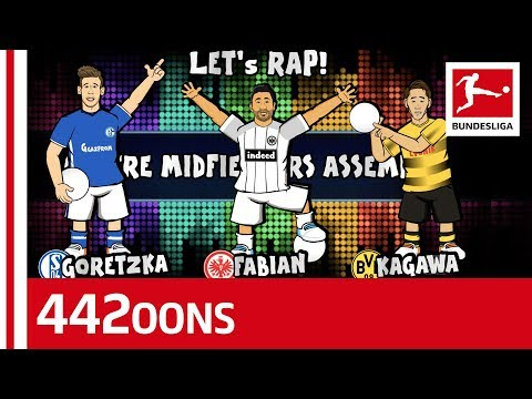 Kagawa, Goretzka or Fabian for Central Midfield? World Cup Dream Team Rap Battle -Powered by 442oons