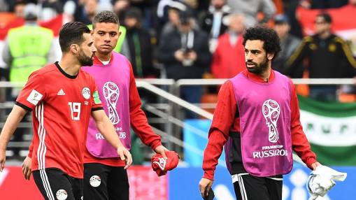 Egypt unleash fit-again Mohamed Salah for Russia clash at 2018 World Cup