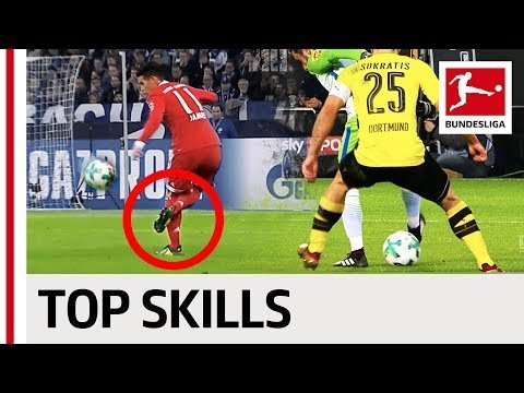 James, Pulisic, Ribery & Co. - Best Skills of 2017/18