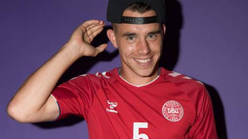 Jonas Knudsen: Denmark players pay for jet so defender can see new-born daughter