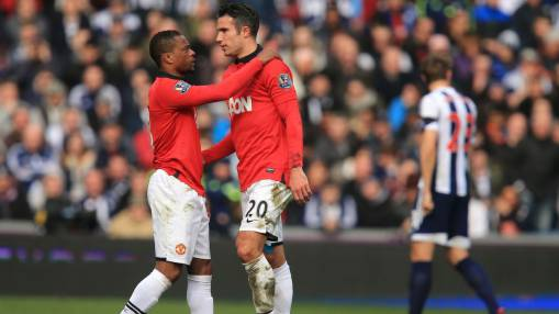 Manchester United's Patrice Evra mocked 'baby team' Arsenal when Robin van Persie left