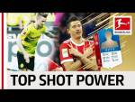 EA SPORTS FIFA 18 - Top 10 Players Highest Shot Power World Cup 2018 - Reus, Lewandowski & More