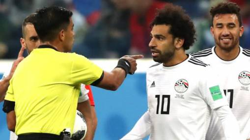 World Cup 2018: Egypt complain about referee Enrique Caceres after Russia defeat