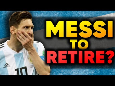 BREAKING: Lionel Messi To RETIRE From Argentina After The World Cup?! | #VFN