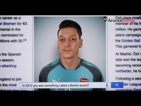 True or false? Mesut Ozil v Wikipedia