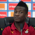 VIDEO: Ghana Captain Asamoah Gyan visits his mom's graveyard