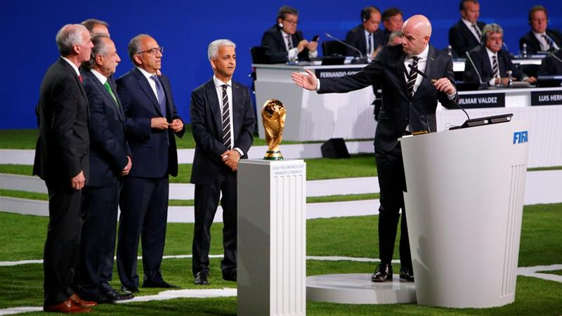OFFICIAL: US, Canada and Mexico to host 2026 FIFA World Cup