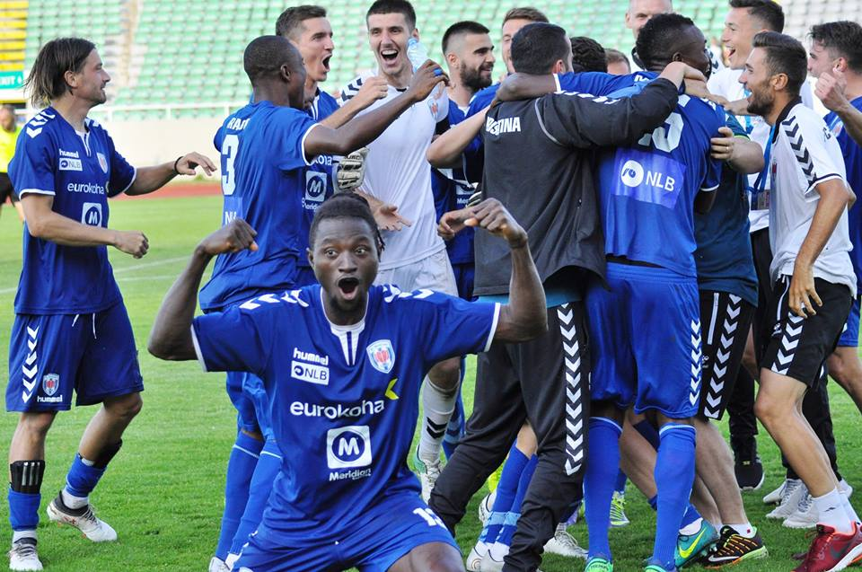 Kosovo based Ghanaian quartet to lead FC Prishtina for Europa League glory