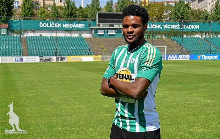 Former Ghana youth striker Benjamin Tetteh set to join Czech giants Sparta Prague