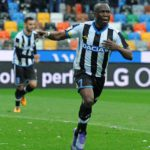 Emmanuel Agyemang-Badu makes first competition action in TEN months as two-star Udinese defeat Genoa