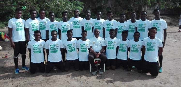 Inter Allies youth side Cedar Stars partners Swedish club Hammarby to create children cancer awareness