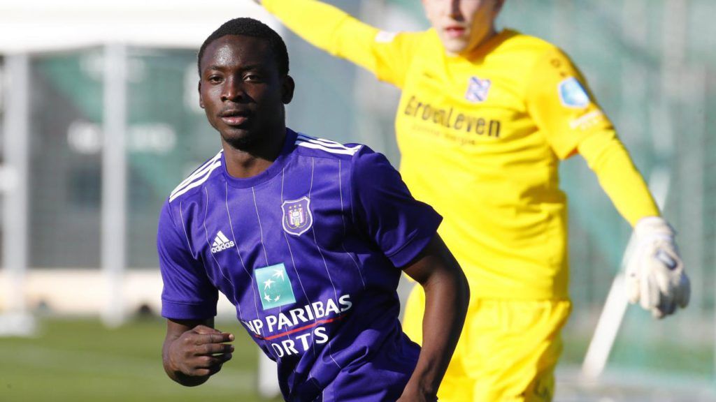 Youngster Dauda Mohammed cameos for Anderlecht in Belgian Jupiler League opener win over Kortrijk