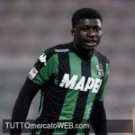 Inter Milan pushing for loan deal for Sassuolo midfielder Joseph Alfred Duncan