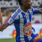 Ghana winger Isaac Mensah scores to salvage point for HJK in Finish League