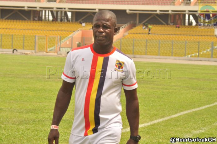 Hearts coach Seth Hoffman is happy for support recieved since the club moved to Pobiman Center for training