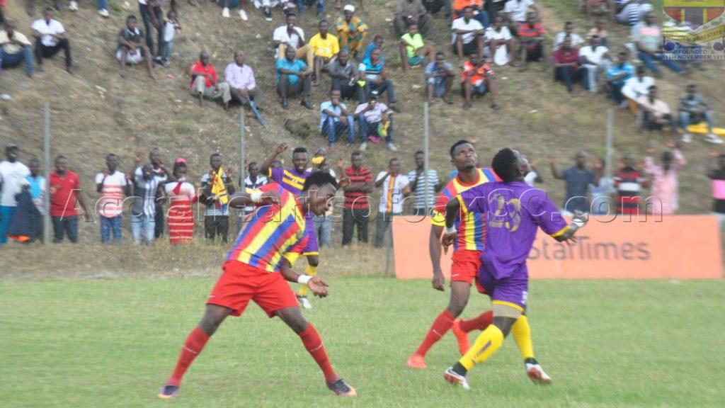 MATCH REPORT: Hearts 1-1 Medeama- Awudu Tahiru's last-gasp strike denies Hearts victory