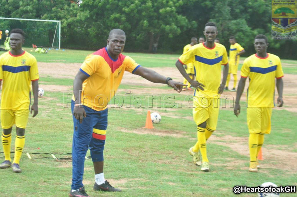 PHOTOS: Ghanaian giants Hearts of Oak resume training