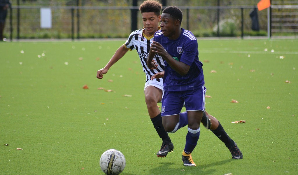 Anderlecht youngster Jeremy Doku called up to Belgium's U-17 squad for Syrenka Cup