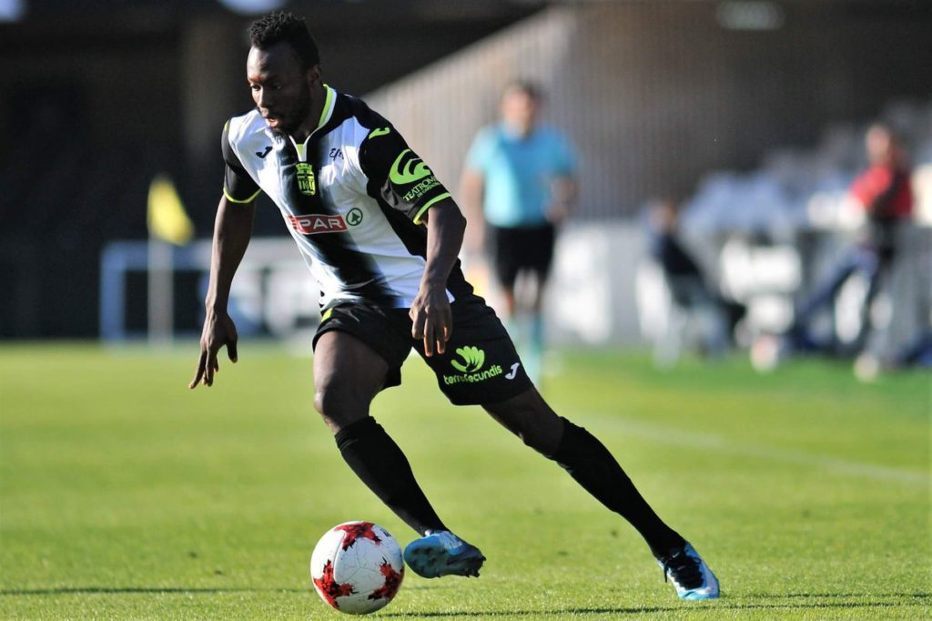 Ghanaian forward Kwabena Owusu upbeat over FC Cartegena promotion ahead of Extremadura clash