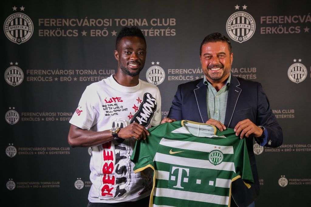 EXCLUSIVE: Defender Akwesi Frimpong completes move to Hungarian giants Ferencváros; signs three-year contract