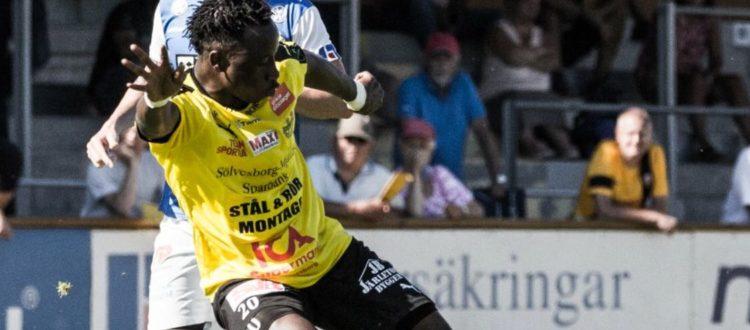 Ghana youth star Prosper Kassim starred in Mjällby win over Lund in Sweden