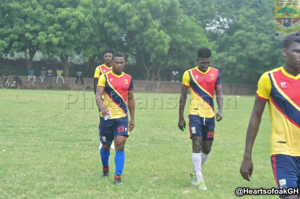 Hearts of Oak to commence training at Pobiman on Monday