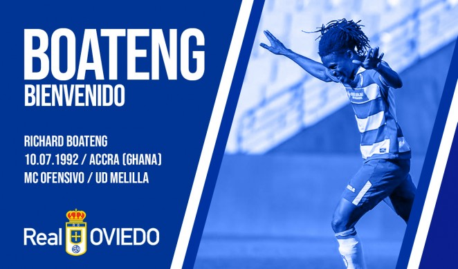 Richard Boateng promises to give his best at Real Oviedo