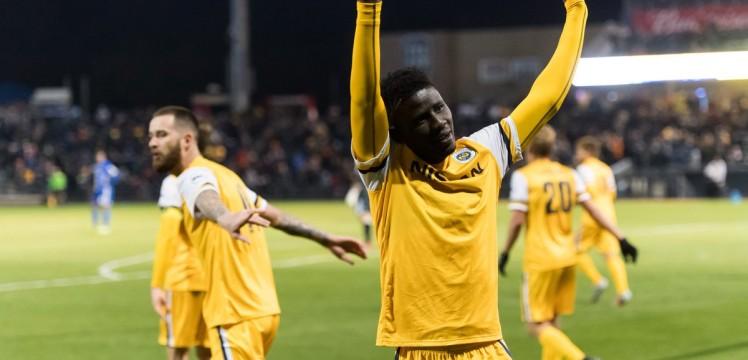 Ropapa Mensah signs permanent deal at Nashville SC
