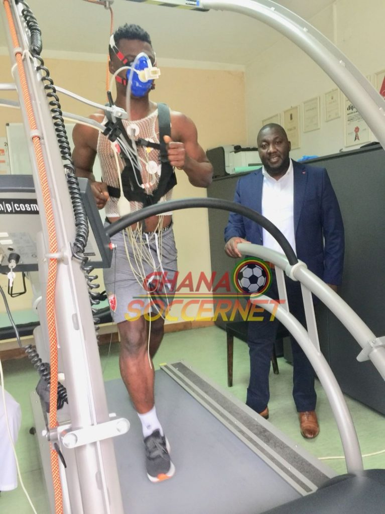 EXCLUSIVE PHOTOS: Ghana star Rashid Sumaila completes Red Star Belgrade medical