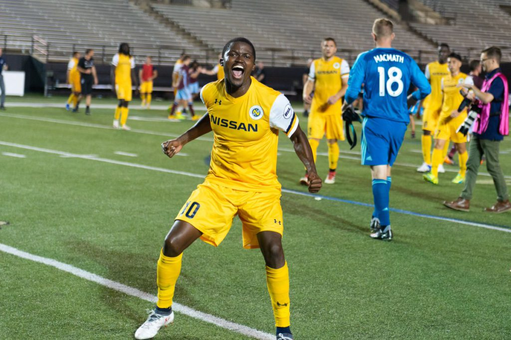 VIDEO: Ropapa Mensah on target for Nashville SC in US Open Cup win