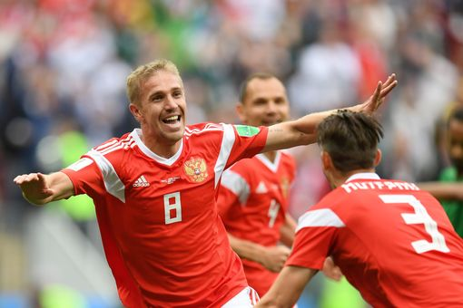 World Cup 2018 Group A opener: Russia 5-0 Saudi Arabia - as it happened