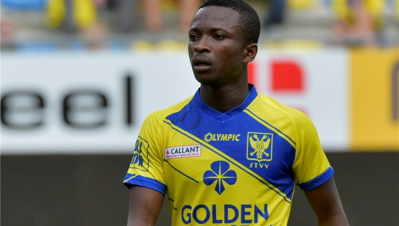 Ghanaian forward Samuel Asamoah starts pre-season with Belgian side Sint-Truiden