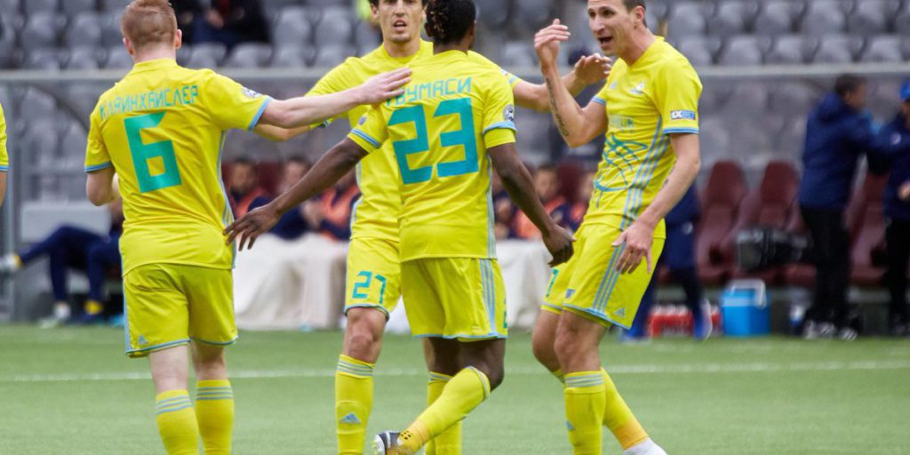 Patrick Twumasi's strike against Kaisar in Kazakhstan league sets new milestone for Astana