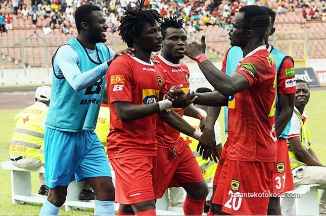 VIDEO: Talisman Sogne Yacouba's brace ensures Asante Kotoko flat champions Aduana Stars