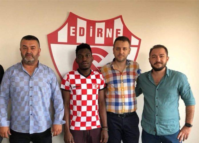 Ghanaian midfielder Omar Bello joins Turkish lower-tier side Edirnespor