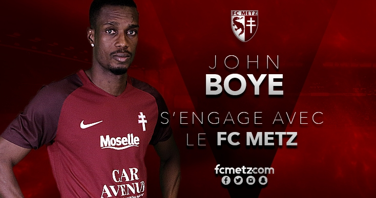 John Boye excels on debut for Metz in pre-season friendly win over Troyes