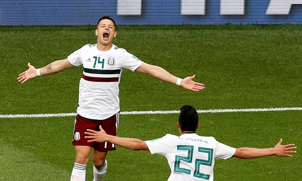 2018 World Cup: South Korea 1-2 Mexico: Mexico hold off South Korea to pile pressure on Germany