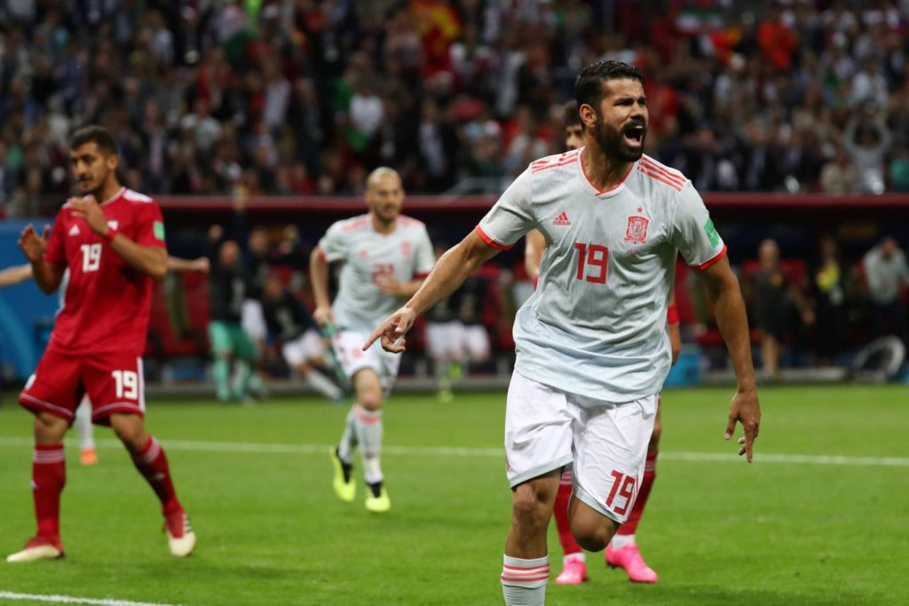 2018 World Cup: Iran 0-1 Spain - Diego Costa gets lucky to seal vital World Cup 2018 win