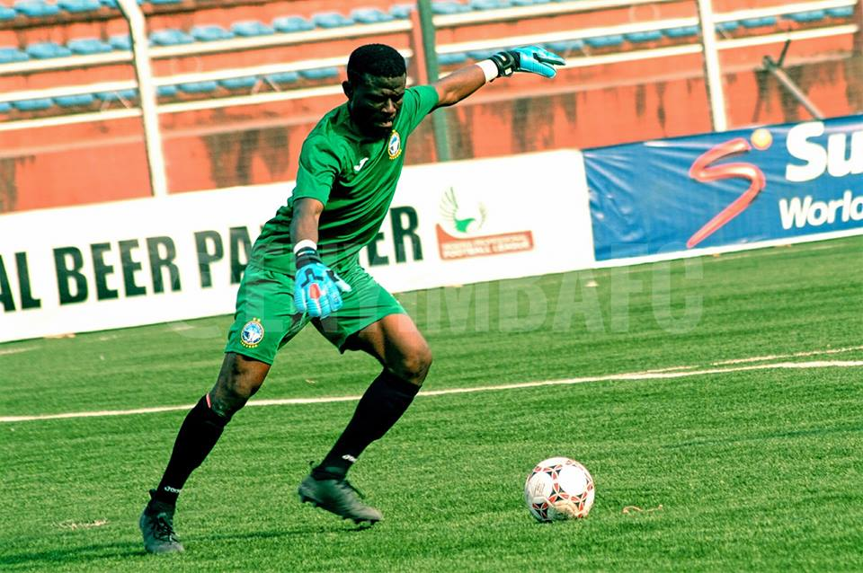 Nigerian based Ghana goalkeeper Fatau Dauda eyes the treble with Enyimba