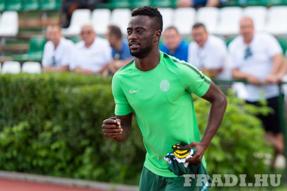 Ferencváros new signing Abraham Akwasi Frimpong to face Maccabi Tel Aviv in Europa League next month