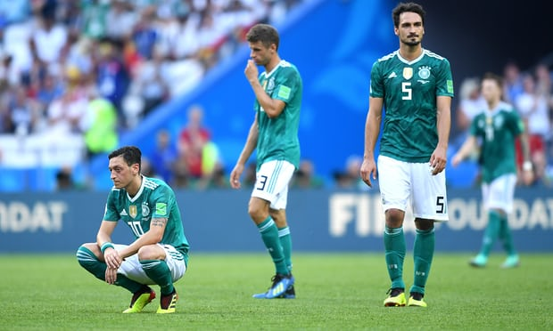 74a31fbacad 2018 World Cup  South Korea 2-0 Germany - Holders out of World Cup 2018  after losing to South Korea as Sweden and Mexico go through