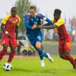 PHOTOS: Black Stars rally back to hold Iceland in friendly clash