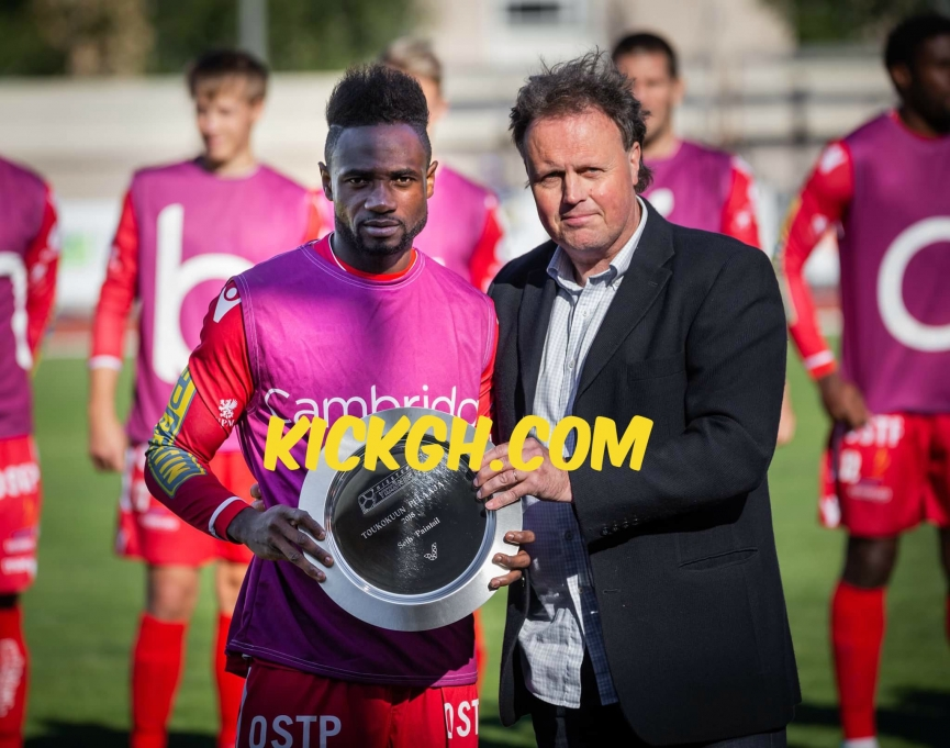 Seth Paintsil expresses delight after receiving Ykkönen League Player of the Month Award
