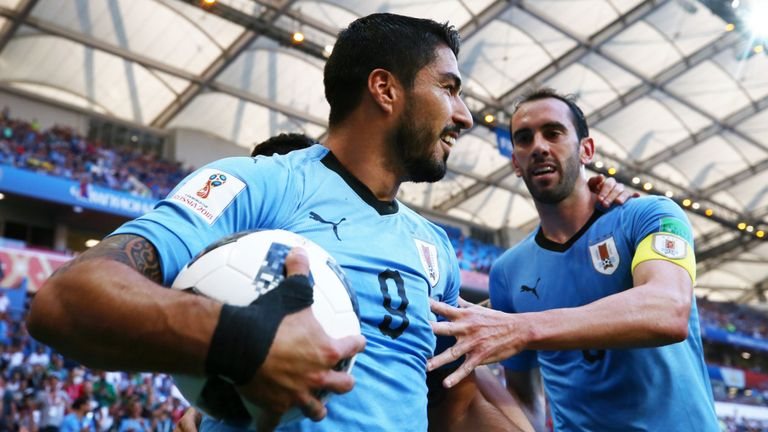 2018 World Cup: Uruguay 1-0 Saudi Arabia - Luis Suarez's solitary strike knocks Egypt out of World Cup