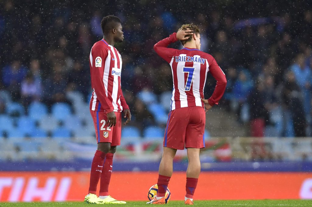 Thomas Partey delighted with Griezmann's contract extension at Atletico Madrid