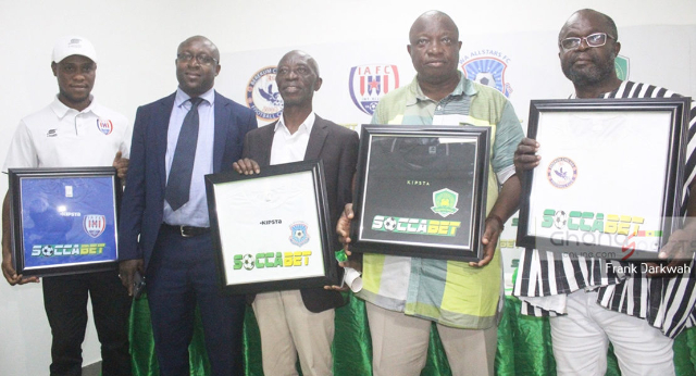 Soccabet reiterate support to Ghana football despite suspension of football activities